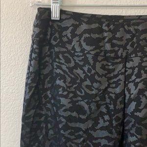 Krazy Larry Pull On Leopard Animal Print Pants 4